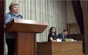 Елена Кокурина рассказала жителей о работе призывной комиссии