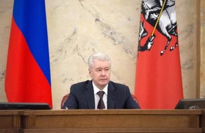 Мэр Москвы Сергей Собянин: На следующий год льготная ставка по аренде остается на том же уровне