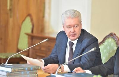 Мэр Москвы Сергей Собянин: В городе уменьшилось количество тяжких преступлений