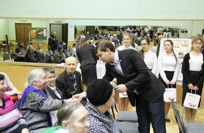 Вручение медалей депутаты Нагатинский Затон