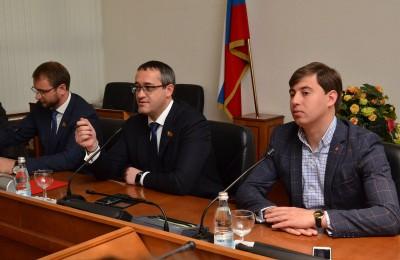 Игорь Давидович, Алексей Шапошников и Кирилл Щитов