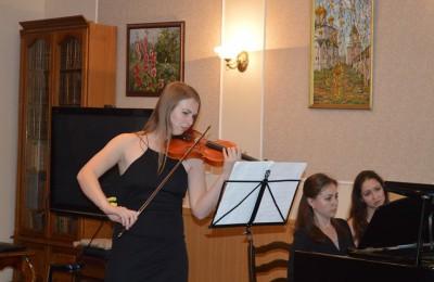Концерт студентов Гнесинки