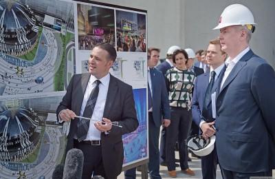 Мэр Москвы Сергей Собянин провёл выездное заседание по вопросам проекта ''Москва-Сити''