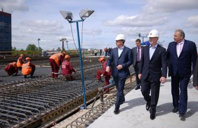 Мэр Москвы Сергей Собянин отметил, что строительство Северо-Восточной хорды сократит путь водителям в 4 раза