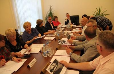 Состоялось очередное заседание Совета депутатов Нагатинского затона