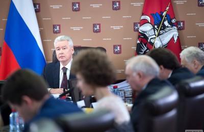 Мэр Москвы Сергей Собянин: В этом году город сохранит высокие темпы реставрации