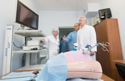 Мэр Москвы Сергей Собянин посетил Московский клинический научно-практический центр