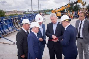 Мэр Москвы Сергей Собянин осмотрел строительство тоннеля на Волгоградском проспекте