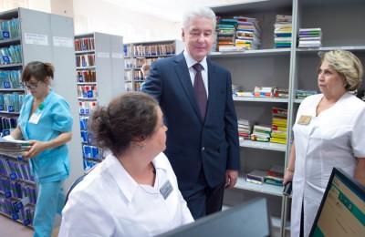 Мэр Москвы Сергей Собянин запустил электронные сервисы