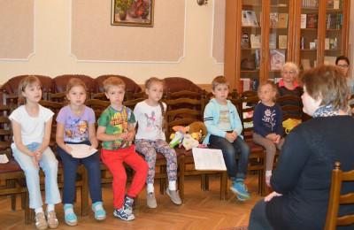 В библиотеке имени Симонова прошли мероприятия для детей