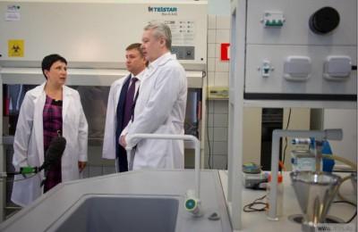 Мэр Москвы Сергей Собянин посетил станцию водоподготовки
