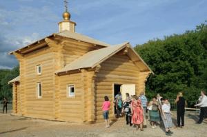 Обыденный храм возведут за один день в музее-заповеднике «Царицыно»