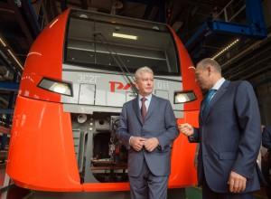 Сергей Собянин открыл новое железнодорожное депо «Подмосковное»