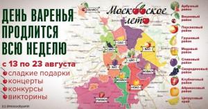 """Схема фестиваля """"Московское варенье"""""""