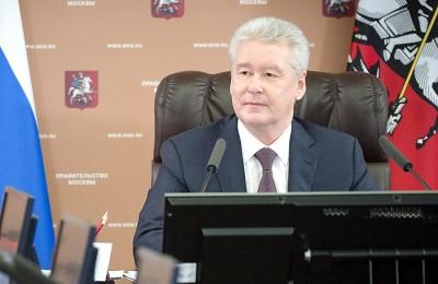 Мэр Москвы Сергей Собянин: Все работы закончат до конца лета