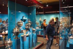 На выставке размещено свыше 300 предметов