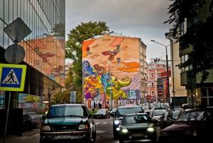 Столичные центры госуслуг предложили москвичам раскрасить город в стиле «Мои документы»