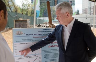 Мэр Москвы Сергей Собянин заявил об увеличении финансирования лечебных учреждений в системе ОМС