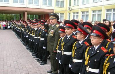 По словам Михаила Горемыкина, за летний период был проведен ремонт во всех зданиях Московского музыкального кадетского корпуса