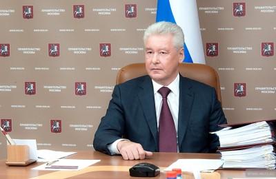 Мэр Москвы Сергей Собянин: Сегодня в городе насчитывается 600 фонтанов