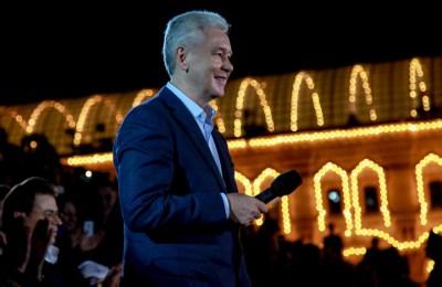 Сергей Собянин открыл фестиваль «Спасская башня» на Красной площади