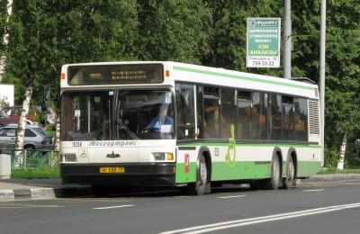 С 3 сентября в Южном округе изменится режим работы маршрута автобуса №128