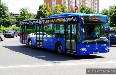 Автобусный парк Москвы в октябре пополнится 150 новыми машинами