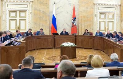Мэр Москвы Сергей Собянин рассказал о лидерстве города в сфере госзакупок