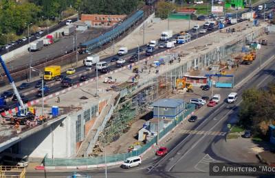 Ремонт Нагатинского метромоста будет проведен в два этапа
