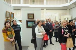 Выставка живописи Семена Кожина открылась в музее-заповеднике «Коломенское»