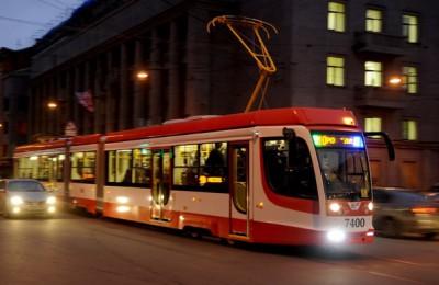 Ночной маршрут трамвая №3 отменили из-за проведения ремонтных работ