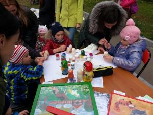 На празднике детишек ждала масса увлекательных сюрпризов