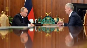 Об индексации пенсий и социальных пособий в Москве шла речь на встрече Владимира Путина с Сергеем Собяниным
