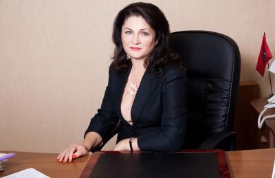 Глава управы района Нагатинский затон Ирина Джиоева