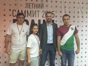Молодежная палата Нагатинского затона активно участвует в съездах и форумах