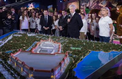 Депрессивная зона в Нагатинской пойме превратится в грандиозный детский парк - Собянин