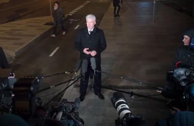 Мэр Москвы Сергей Собянин осмотрел благоустройство Неглинной улицы