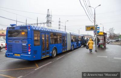 В ЮАО с 31 декабря изменен режим работы нескольких автобусов