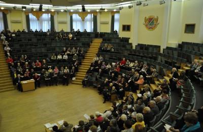Заседание президиума окружного Совета ветеранов прошло в ЮАО