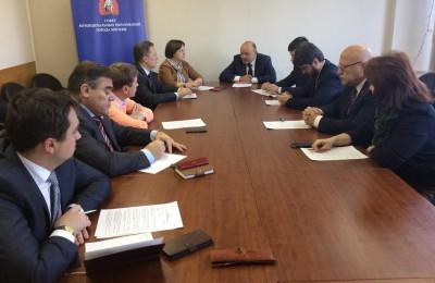 Члены Президиума Совета муниципальных образований столицы подвели итоги бюджетного мониторинга