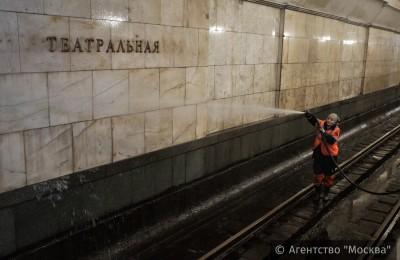В 2015 году в московском метро провели 23 технологических окна
