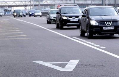 С 11 января выделенная полоса появилась еще на одном участке Варшавского шоссе
