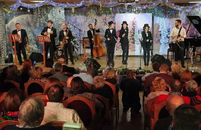 В музее-заповеднике «Коломенское» прошел новогодний джазовый фестиваль
