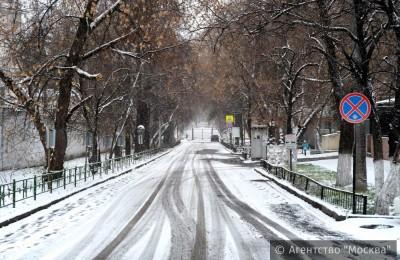 В январе в Москве выпало 104 сантиметра снега