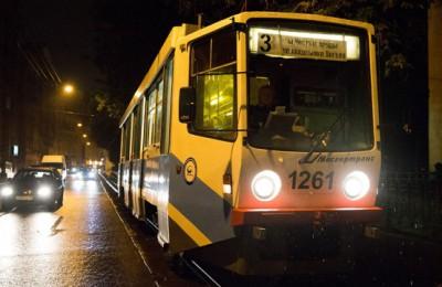 Трамвай №3 не будет ходить несколько ночей в январе из-за ремонтных работ