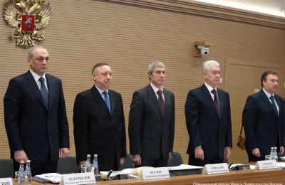 Сегодня мэр Москвы Сергей Собянин поучаствовал в заседании при полномочном представителе Президента РФ