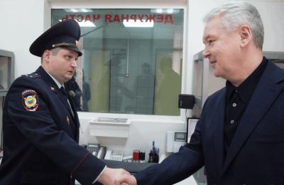 Мэр Москвы Сергей Собянин: Капитальный ремонт прошел в 60 райотделах полиции