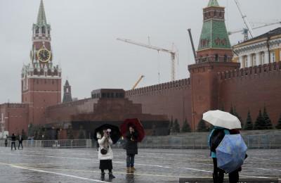 На смену дождю в Москве придет мороз