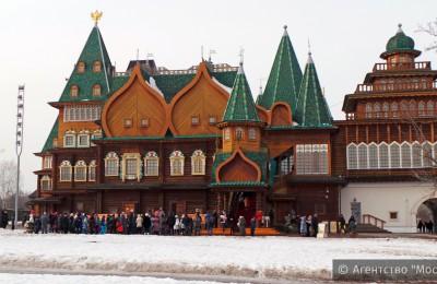 В музее-заповеднике «Коломенское» на Масленицу организуют народные гуляния