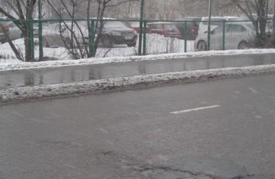 Благодаря порталу «Наш город» были отремонтированы дороги в Нагатинском затоне